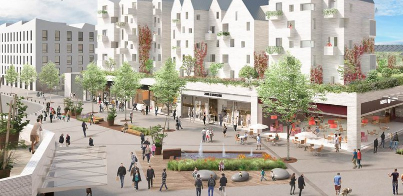 "The Wilhelm & Co group is developing an entirely new neighborhood in Dieppe (France): ""Les Quais"""