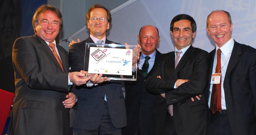 L'esplanade wins award