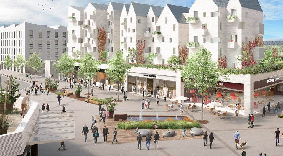 """The Wilhelm & Co group is developing an entirely new neighborhood in Dieppe (France): """"Les Quais"""""""