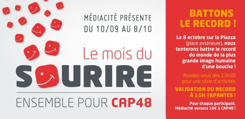 Médiacité soutient CAP 48 !