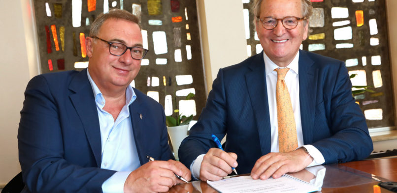 La Strada: signing the agreement with the City of La Louvière