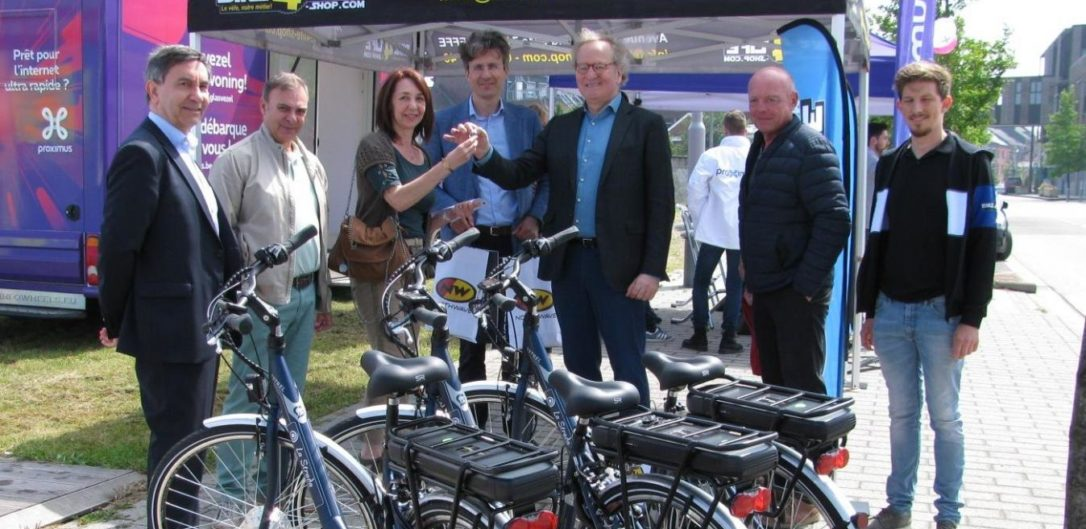 First electric bicycles in La Strada