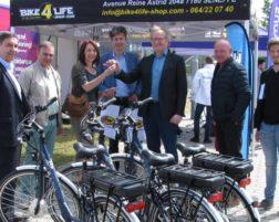 (Fr) Les premiers vélos électriques de La Strada